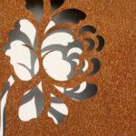 De voordelen van cortenstaal tuindecoratie